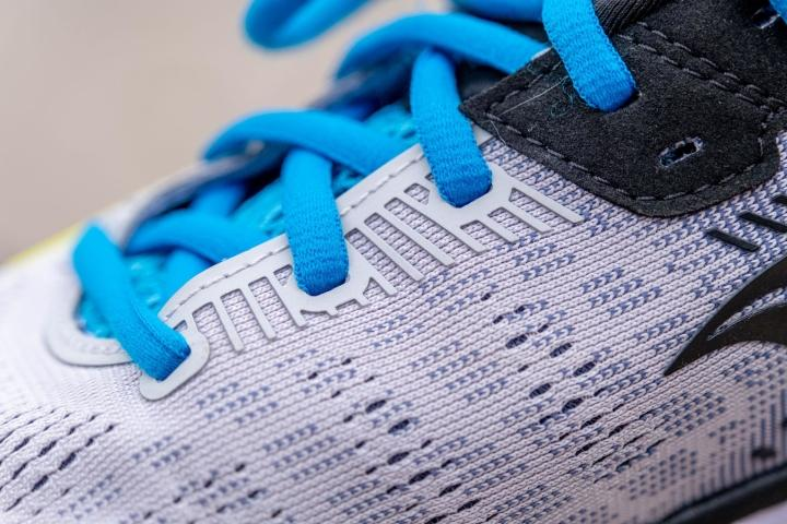 Lace holes on Saucony Guide 14