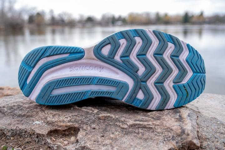 Outsole on Saucony Guide 14