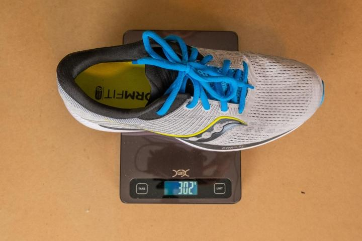 Weight of the Saucony Guide 14