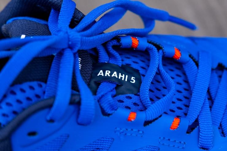 Lacing system on Arahi 5