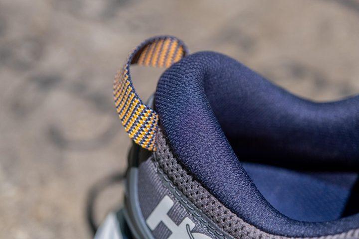 Padded heel on Hoka One One Gaviota 3