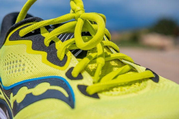 Saucony Ride 14 laces