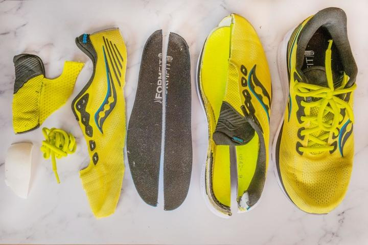 Saucony Ride 14 pieces of the shoes