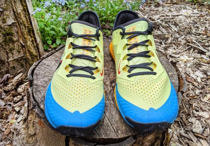 Nike Terra Kiger 7 forefoot