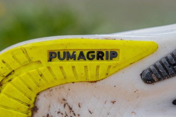 Grip on Puma Deviate Nitro