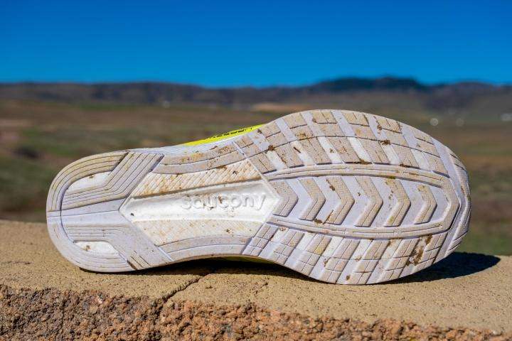 Outsole on Saucony Freedom 4