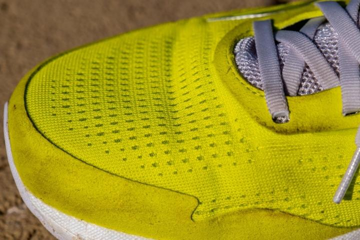 Upper on Saucony Freedom 4