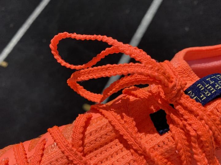 Laces on Nike Zoom Superfly Elite 2