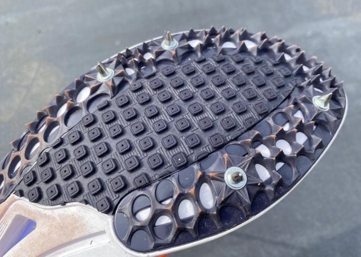 Spikes on Nike Spike Flat