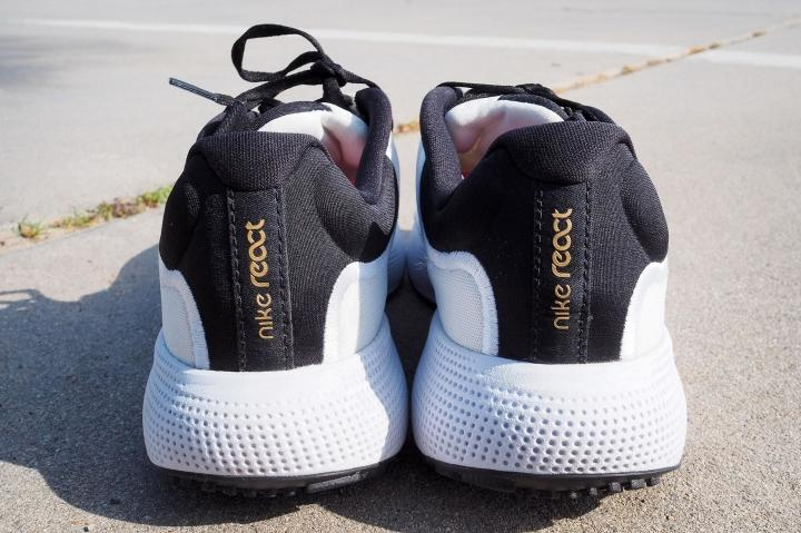 Heel design on Nike Escape Run
