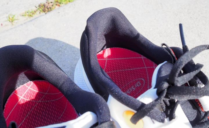 Nike Escape Run heel design