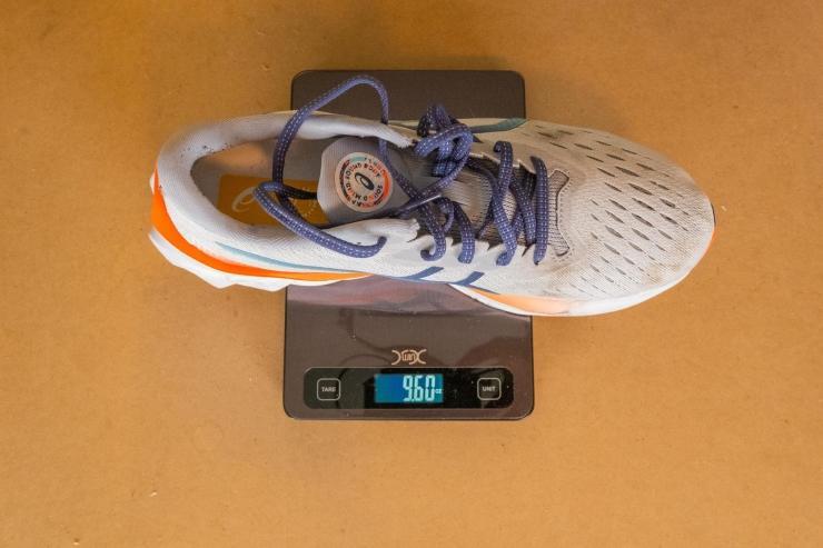 Weight of the Asics Novablast 2