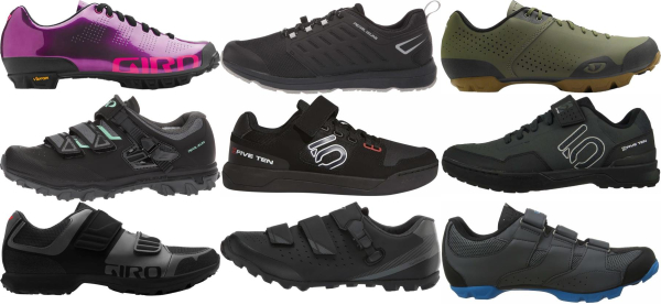 buy 2 holes mountain cycling shoes for men and women