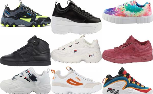 buy 2020 fila sneakers for men and women