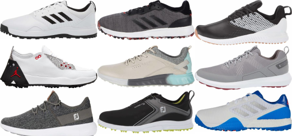 buy 2020 spikeless golf shoes for men and women