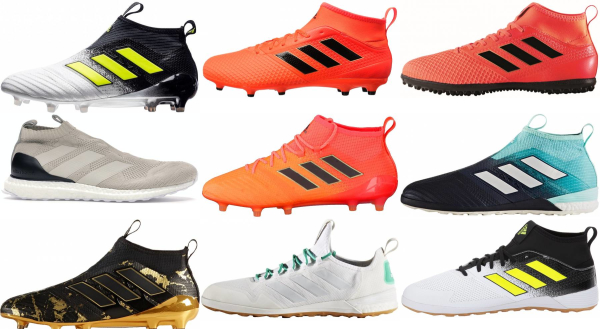buy adidas ace soccer cleats for men and women