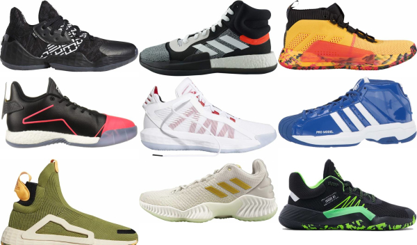buy adidas basketball shoes for men and women