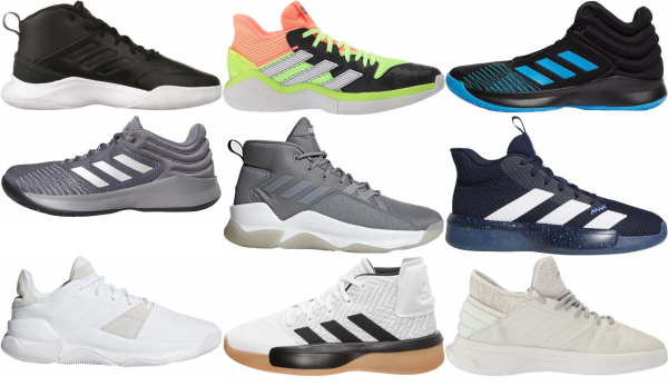buy adidas cheap basketball shoes for men and women