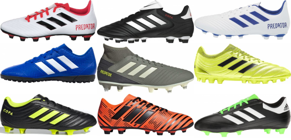 buy adidas cheap soccer cleats for men and women