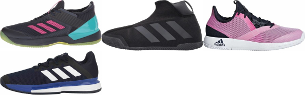 buy adidas clay court tennis shoes for men and women