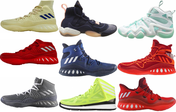buy adidas crazy basketball shoes for men and women