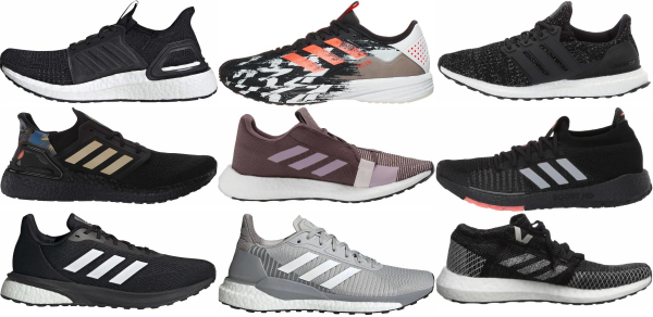 buy adidas cushioned running shoes for men and women