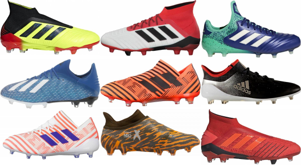 buy adidas firm ground soccer cleats for men and women