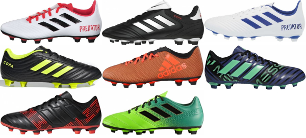 buy adidas flexible ground soccer cleats for men and women