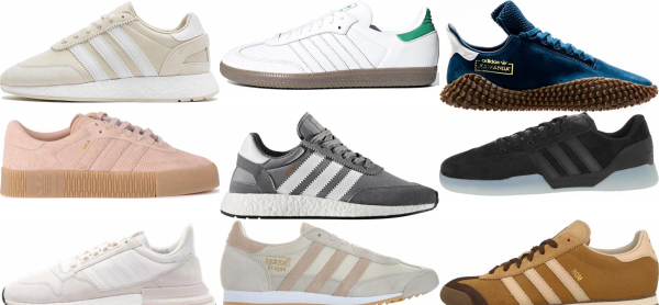 buy adidas gum sole sneakers for men and women