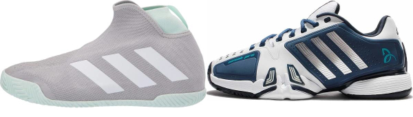 buy adidas hard court tennis shoes for men and women
