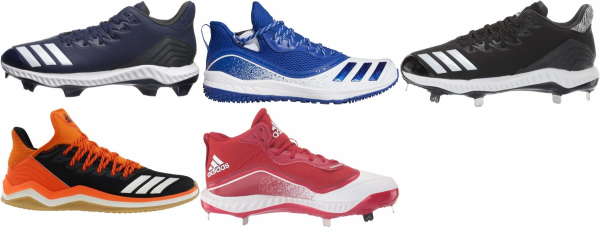 buy adidas icon baseball cleats for men and women
