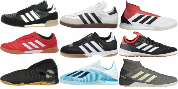 buy adidas indoor soccer cleats for men and women