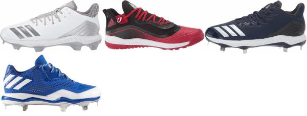 buy adidas ironskin toecap baseball cleats for men and women