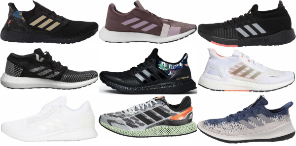 buy adidas knit upper running shoes for men and women