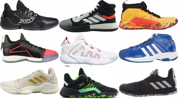 buy adidas lace-up basketball shoes for men and women