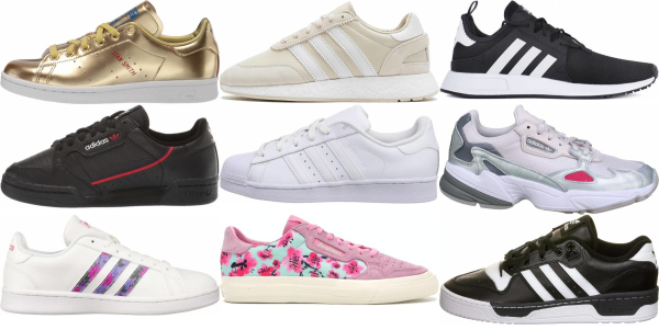 buy adidas leather sneakers for men and women