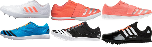 buy adidas long jump track & field shoes for men and women