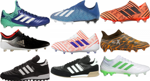 buy adidas low top soccer cleats for men and women