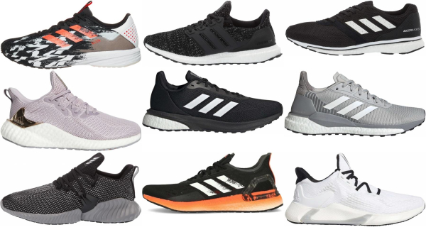 buy adidas mesh upper running shoes for men and women