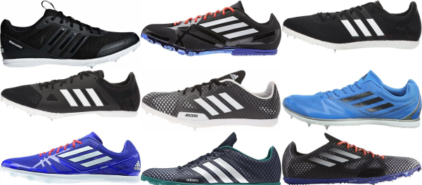 Save 65% On Adidas Mid Distance Track & Field Shoes (9