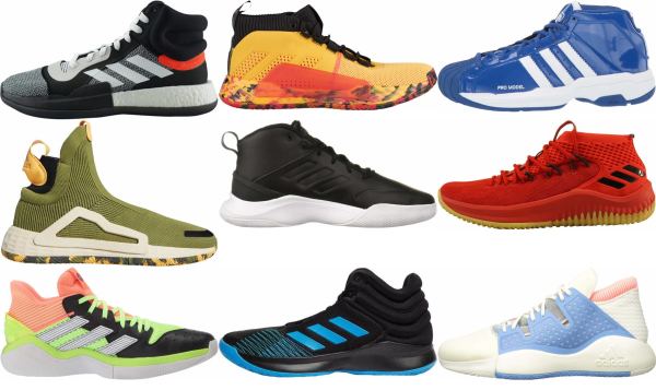 buy adidas mid basketball shoes for men and women