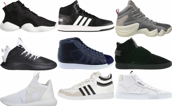 buy adidas mid top sneakers for men and women