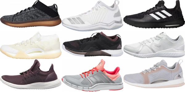 buy adidas non-marking sole training shoes for men and women