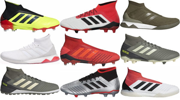buy adidas predator soccer cleats for men and women