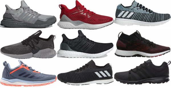 buy adidas slip-on running shoes for men and women
