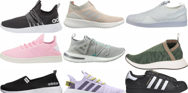 buy adidas slip-on sneakers for men and women