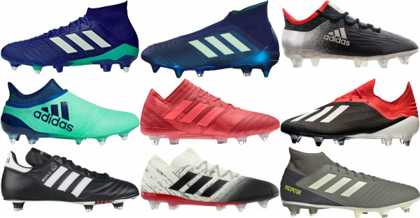 buy adidas soft ground soccer cleats for men and women