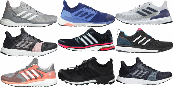 Save 52% on Adidas Stability Running Shoes (24 Models in