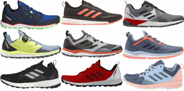 buy adidas trail running shoes for men and women