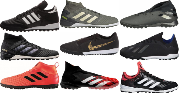 buy adidas turf soccer cleats for men and women